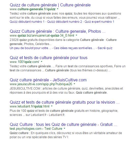 question réponse culture générale gratuit
