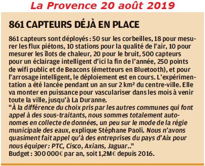 Capteurs La Provence 20 Août 2019 - Copie