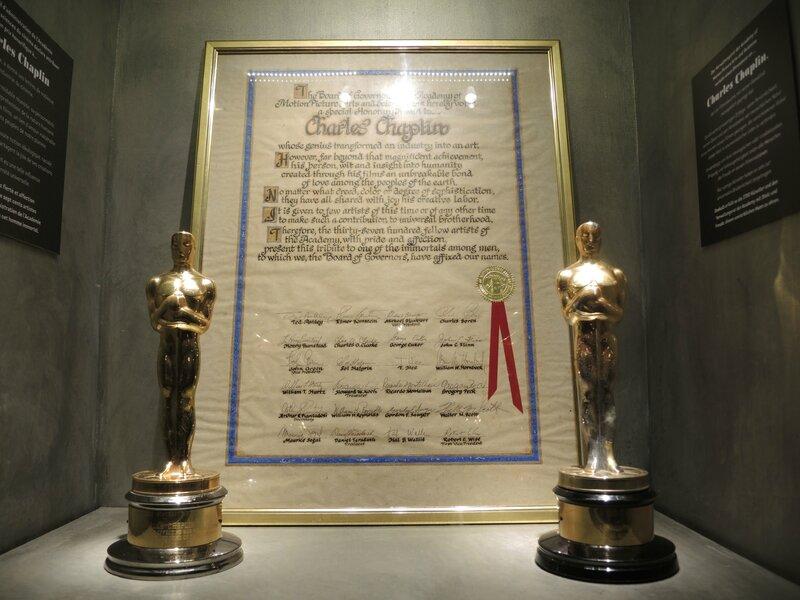 Corsier-sur-Vevey, Chaplin's world, le Studio, salle des trophées, oscars (Suisse)