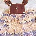 Bedou magique qui produit de l'argent