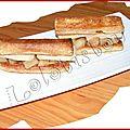 Millefeuille foie gras & poires caramélisées