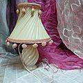Lampe opaline vintage