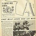 Bonnet pour bambino - 5 janvier 1956