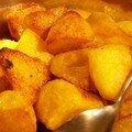 Pommes de terre croustillantes au four à la Nigella