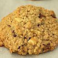 Cookies aux flocons d'avoine et à la pomme