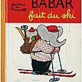 Babar fait du ski