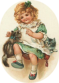 free-vintage-st-patricks-day-little-girl-in-green-dress-wit