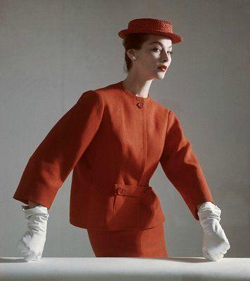Vogue March 1952 - Balenciaga