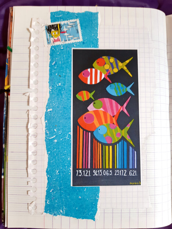 COLLAGE 21 POISSONS