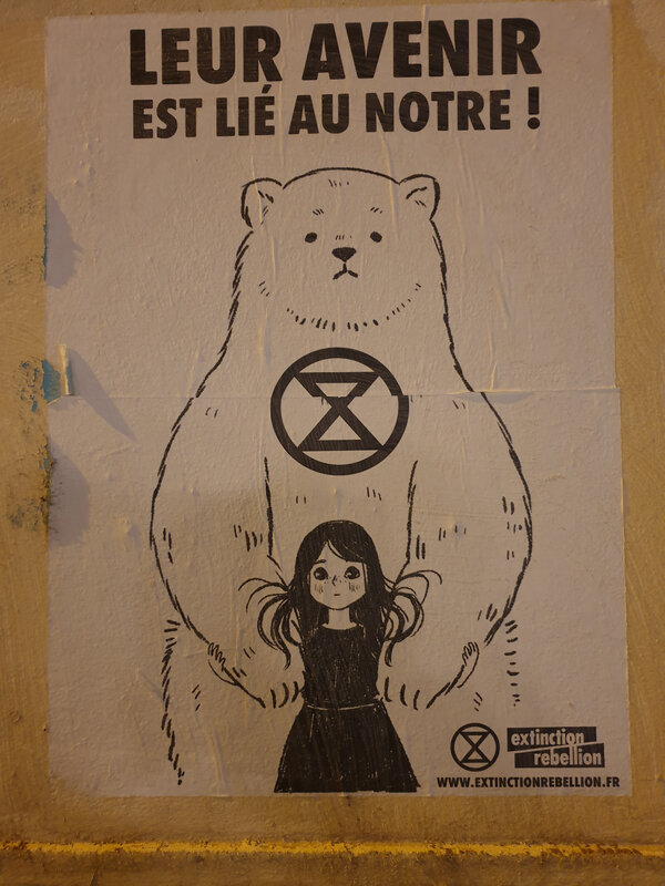 extinction rebellion lyon