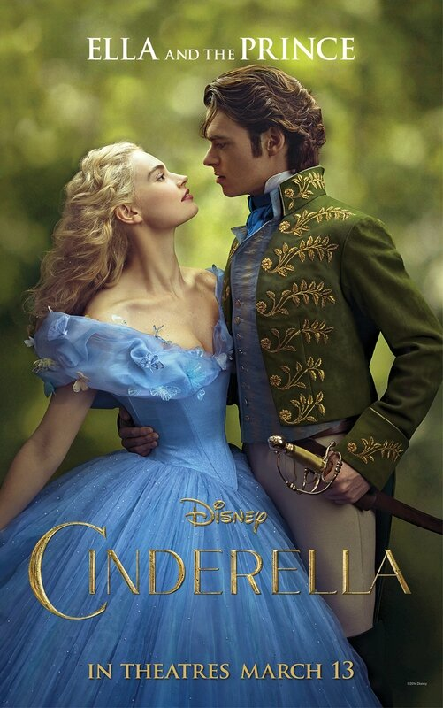 Ella and the Prince Cinderella movie poster