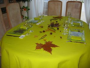 table automne 2008-2