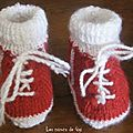 Chaussons baskets