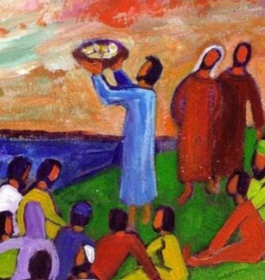 eucharistie du Christ, Berna Lopez