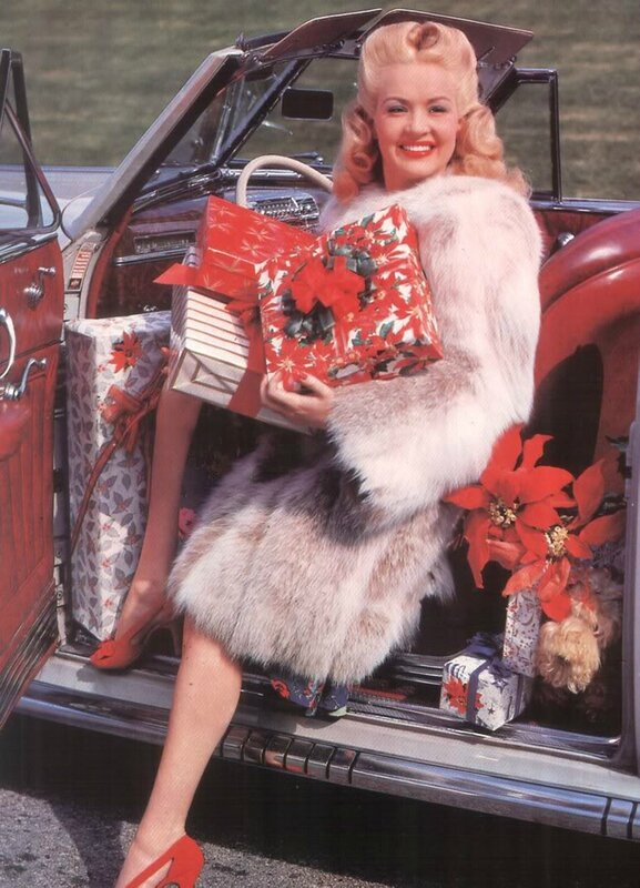 betty grable xmas
