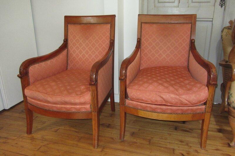 fauteuil bergere restauration. Black Bedroom Furniture Sets. Home Design Ideas
