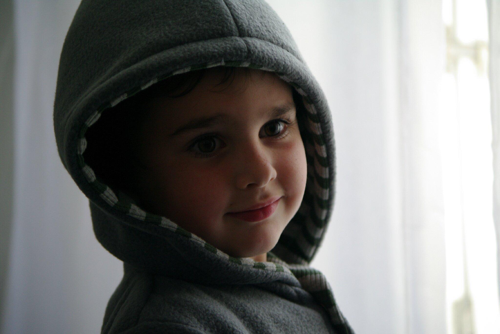 coudre une veste à capuche pour enfant