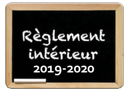 reglement interieur 2019-2020 copie