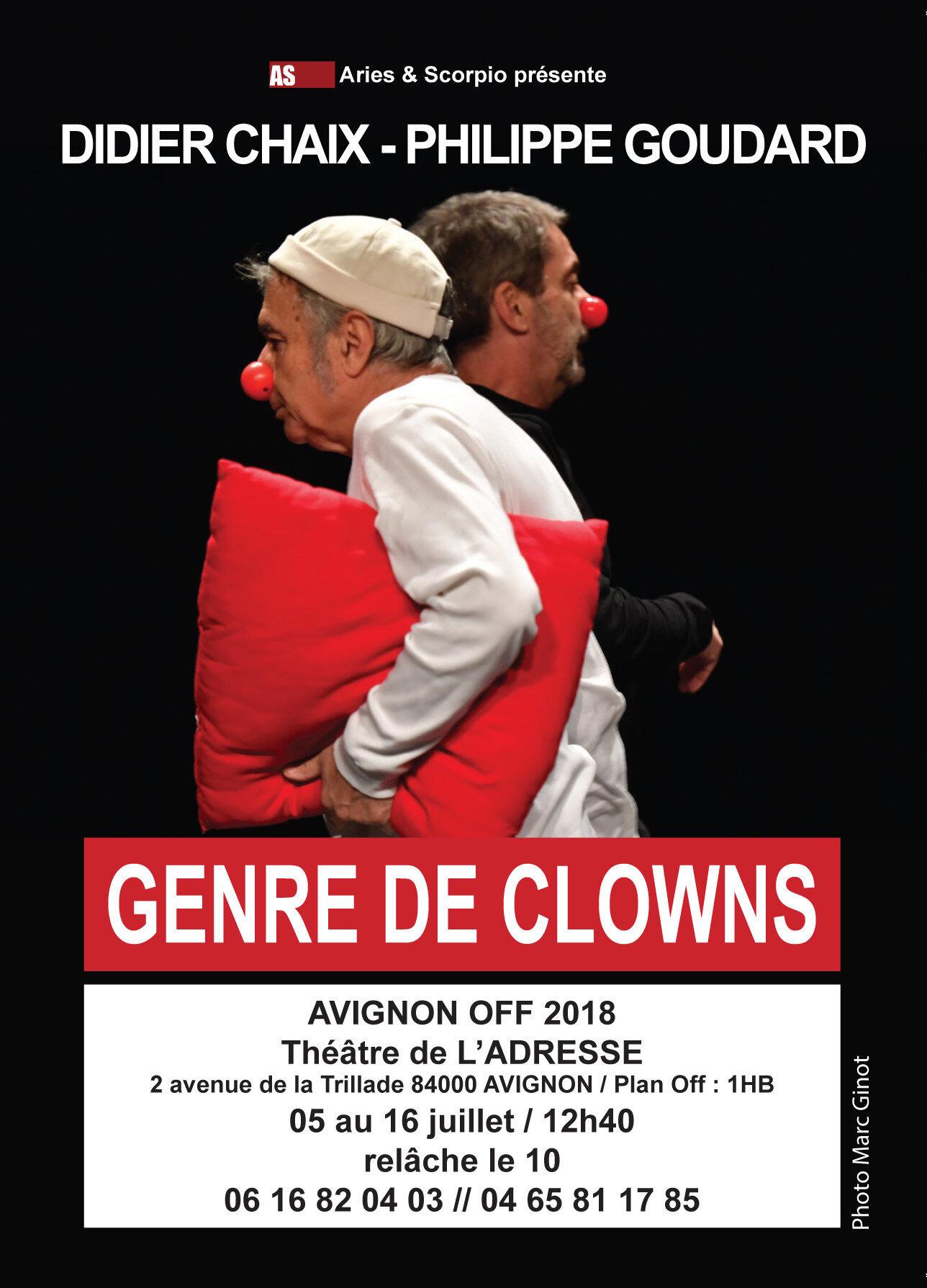 Avignon: spectacles de mes amis Philippe Goudard et Sandy Sun