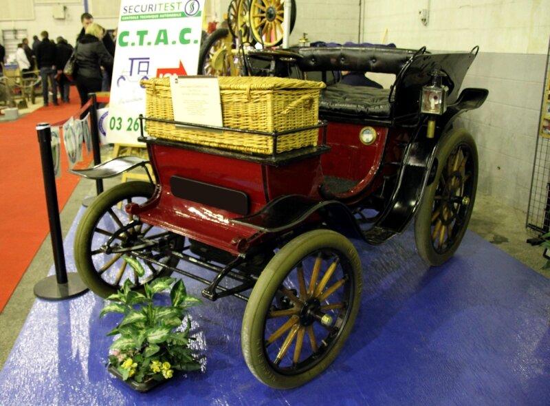 Clement type VCP dos à dos 5CV de 1901 (23ème Salon Champenois du véhicule de collection) 01