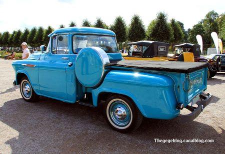 Chevrolet 3100 pick-up de 1957 (9ème Classic Gala de Schwetzingen 2011) 02