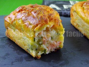 mini cake courgettes saumon 09