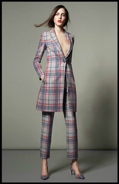 giorgio armani collection spring tartan capsule 3