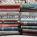 Top ten tuesday # 97 : les 10 livres dont la couverture contient un mode de transport