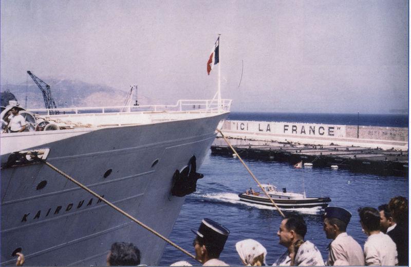L'exode départ du Kairouan Oran 1962