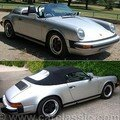 PORSCHE - 911 Carrera 3.2 Speedster Flat Wings - 1989