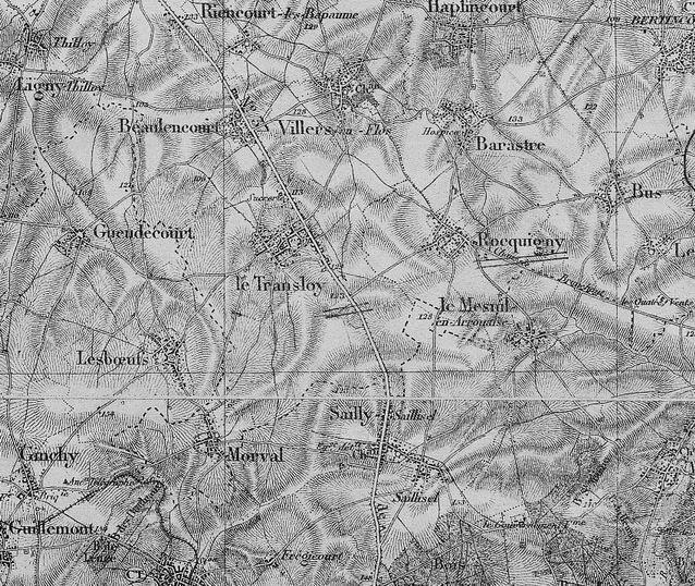 Redimensionnement de 1914-08 le transloy carte