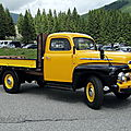 Ford f-1 flatbed, 1951
