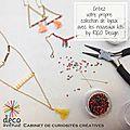 Kits bijoux by rico design