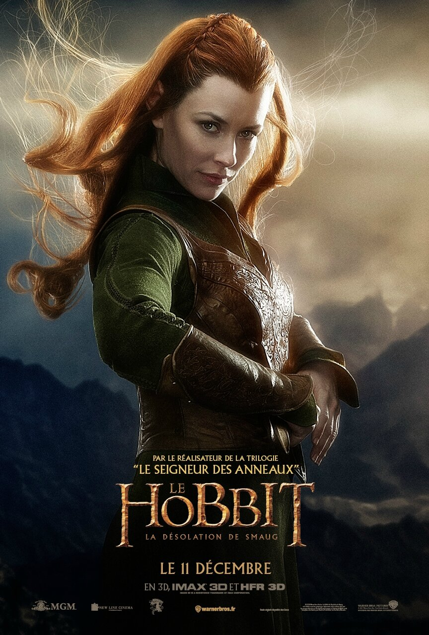 Tauriel The Hobbit The Desolation of Smaug