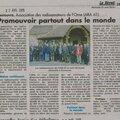 L'ara 61 a l'honneur dans le journal le reveil normand