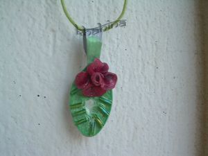 bijoux fantaisie pendentif ecologique