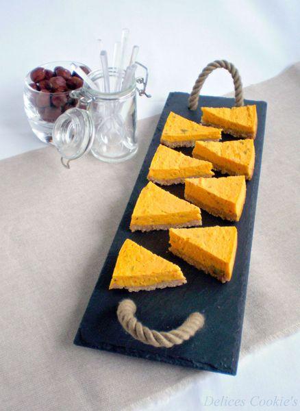 cheesecake potimarron chevre ciboulette 1