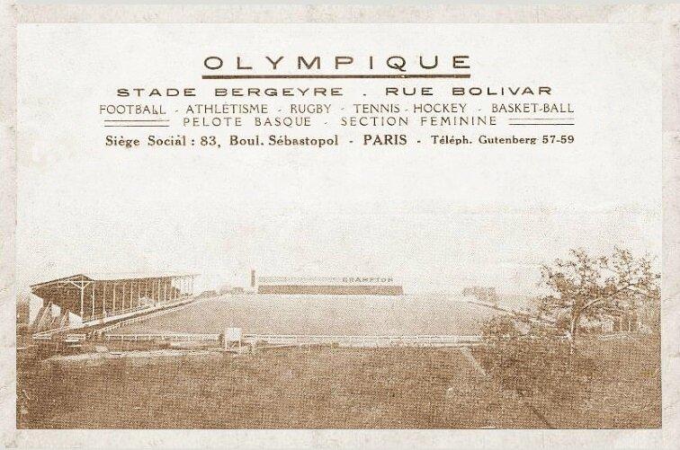 CPA Paris Stade Bergeyre R