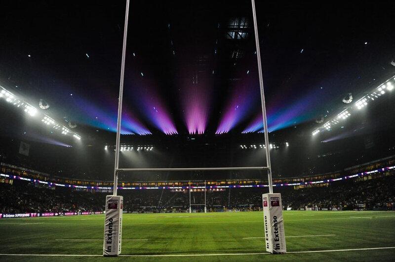 Un stade de rugby tel un mirage...