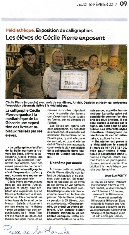 article presse de la manche