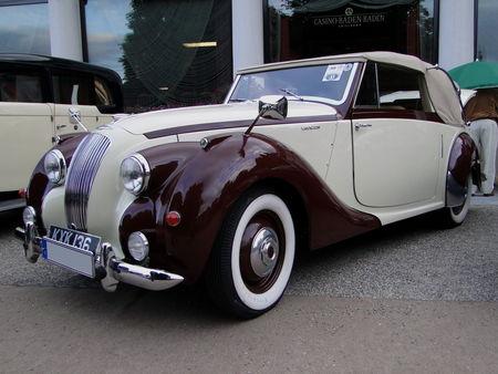 LAGONDA A Convertible 1949 Internationales Oldtimer Meeting Baden-Baden 2009 1