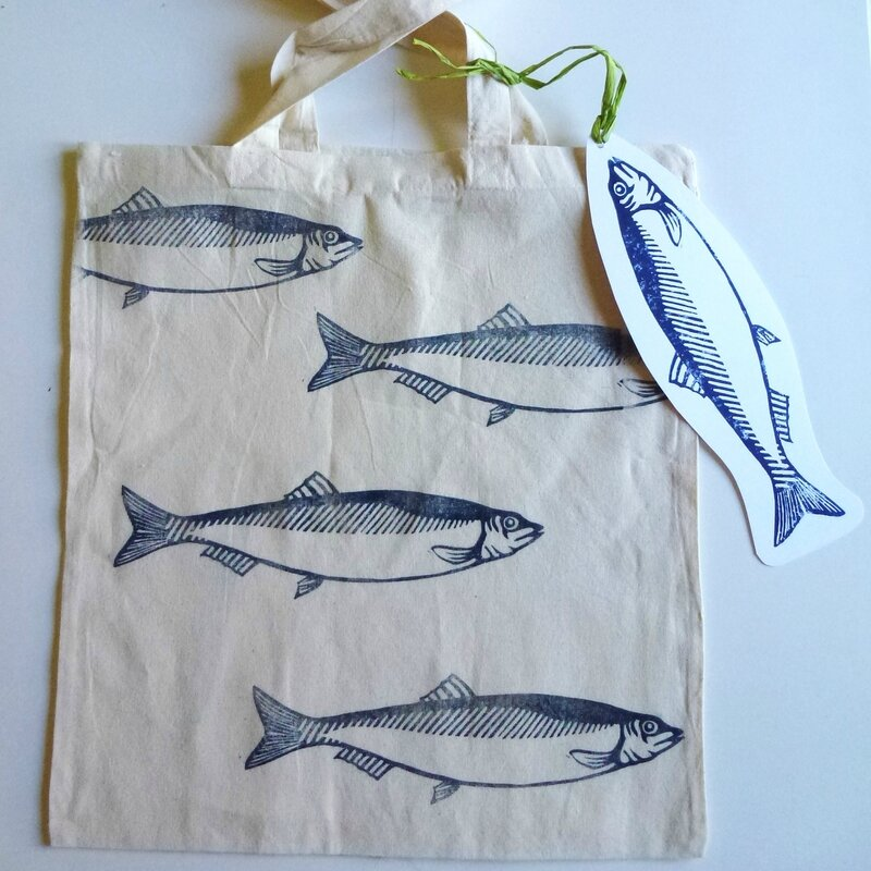 tote bag poisson