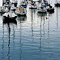 Le calme du port le matin