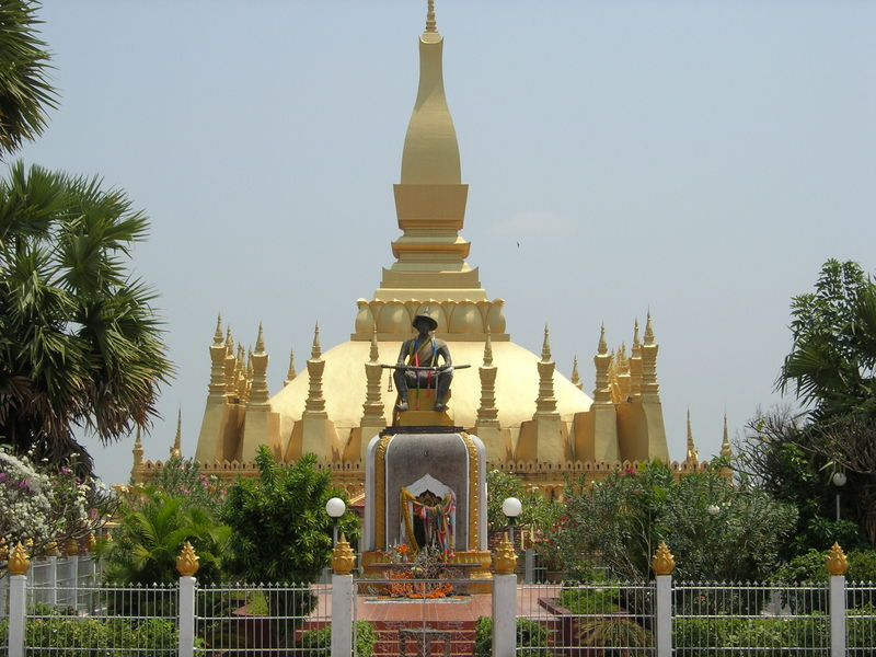 Grand Stupa d'Or - Vientiane