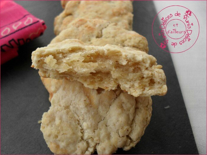 cookies au chèvre 2