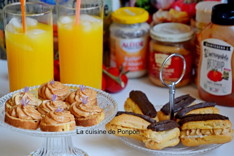 Eclairs thoionade et toast (17)