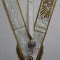 Sautoir et bijou de 33e Souverain Grand Inspecteur Général. R.E.