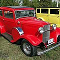 Ford model 18 victoria five passenger v8 coupe-1932