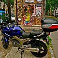 Instantané avenue Philippe Auguste.