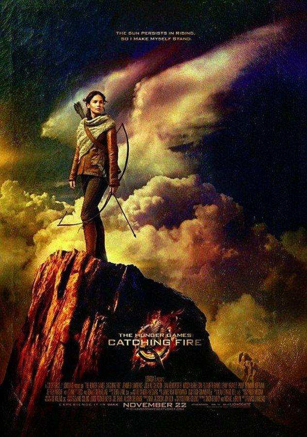 Poster Katniss Everdeen Catching Fire VO